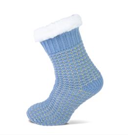 ShoeSupply.eu Huissokken Gold - Blauw