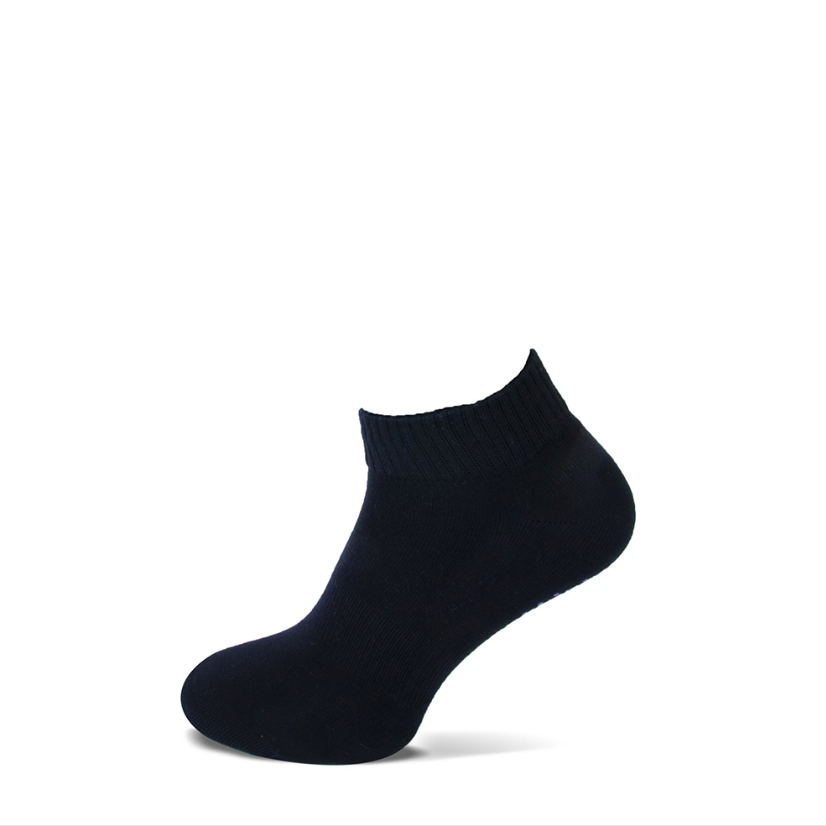 Basset Bio Pilates Yoga sokje - antislip - zwart