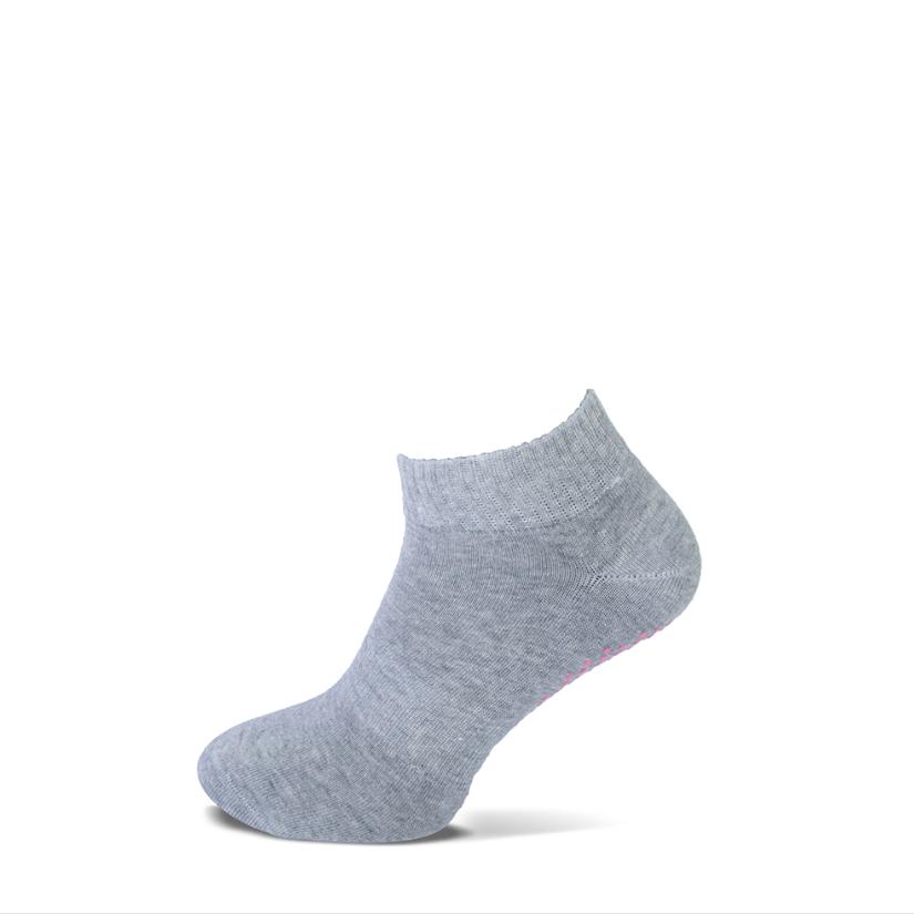 Basset Bio Pilates Yoga sokje - antislip - grijs