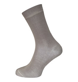 BORU Boru Bamboe sokken - donkerbeige