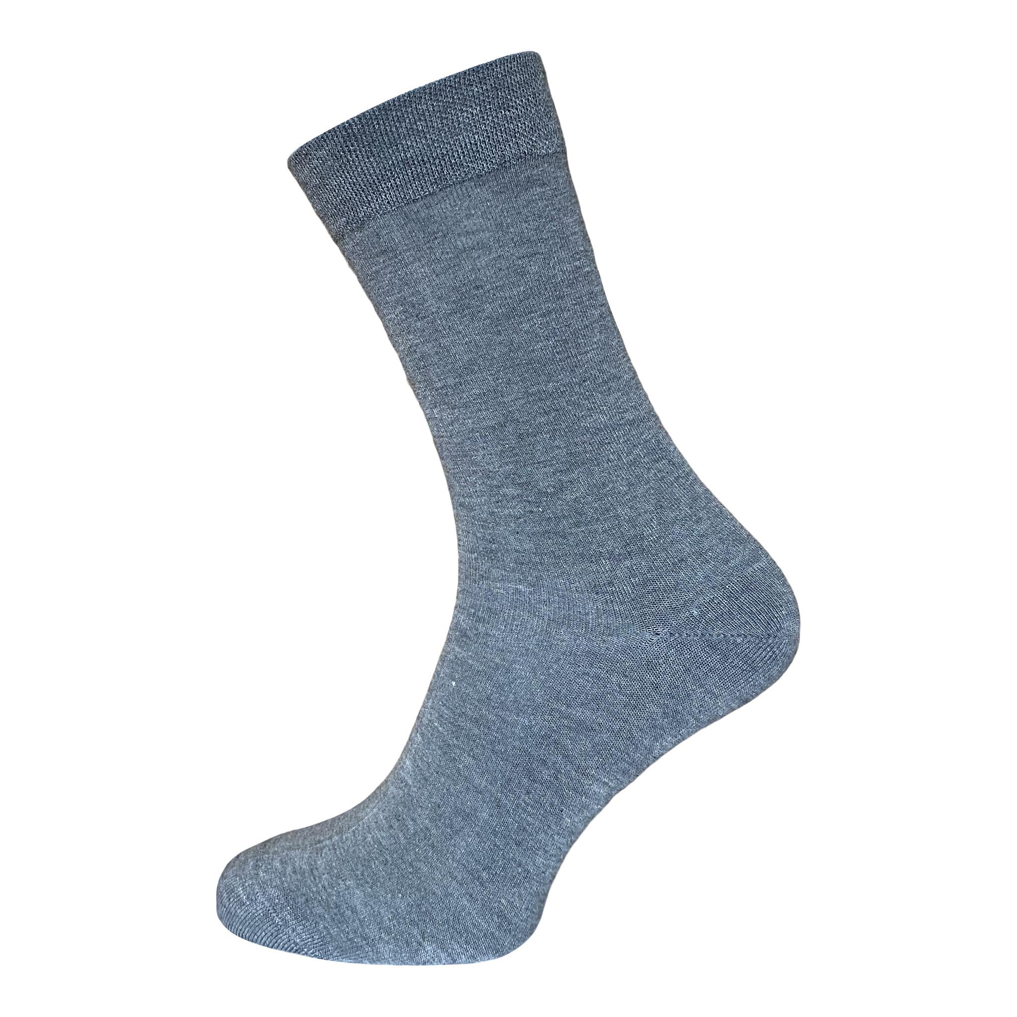 BORU Boru Bamboe sokken - middengrijs