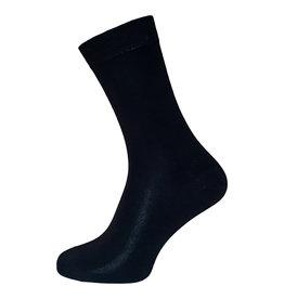 Boru sokken Boru Bamboe Terry sokken - badstof zool - zwart