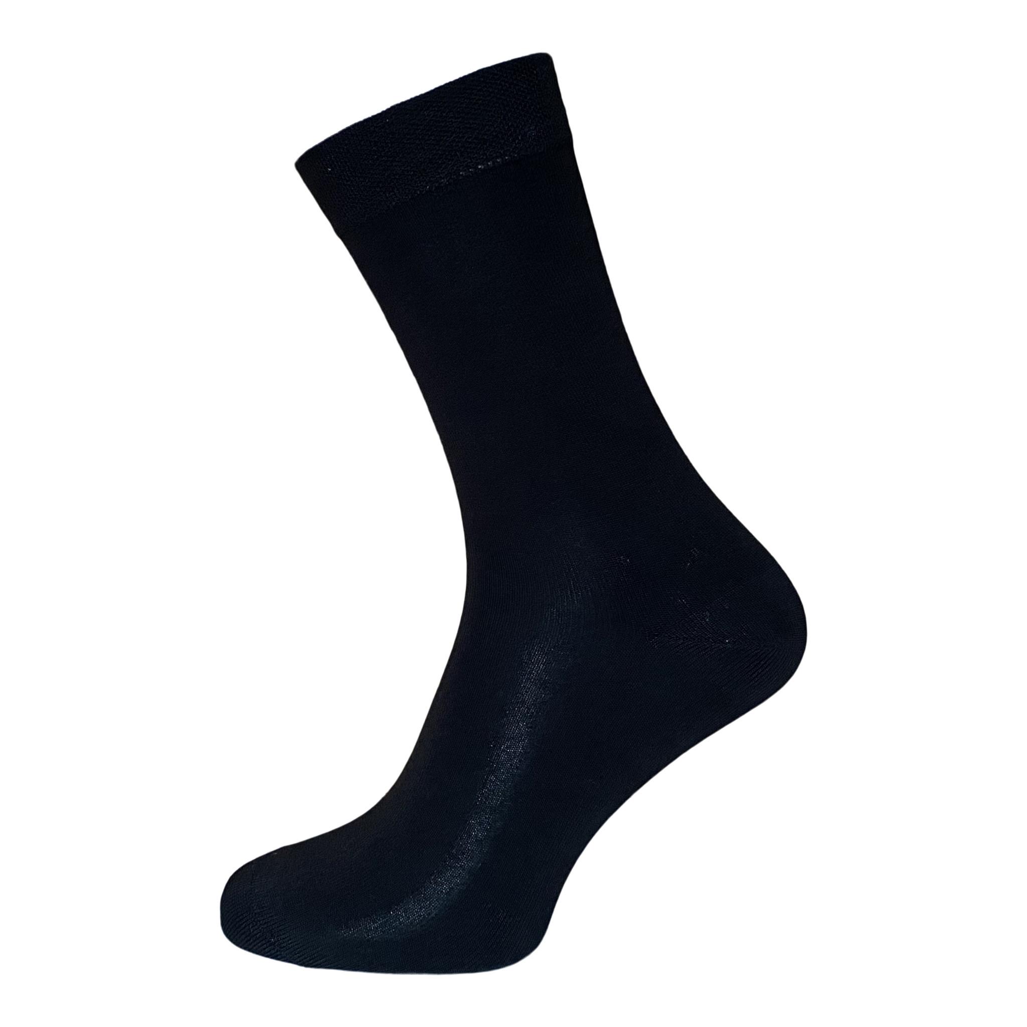 Boru sokken Boru Bamboe sokken - badstof zool - zwart