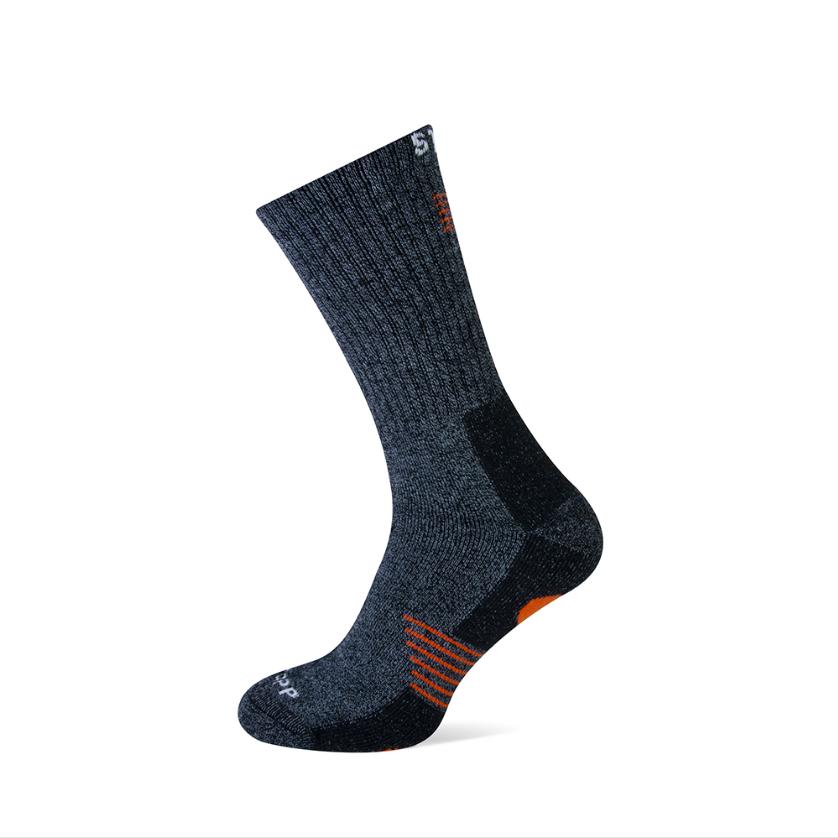 Stapp Stapp Bamboo sokken - grijs oranje