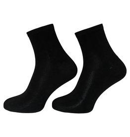 Boru sokken Boru Bamboe enkelsokken - zwart