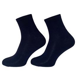 Boru sokken Boru Bamboe enkelsokken - marine