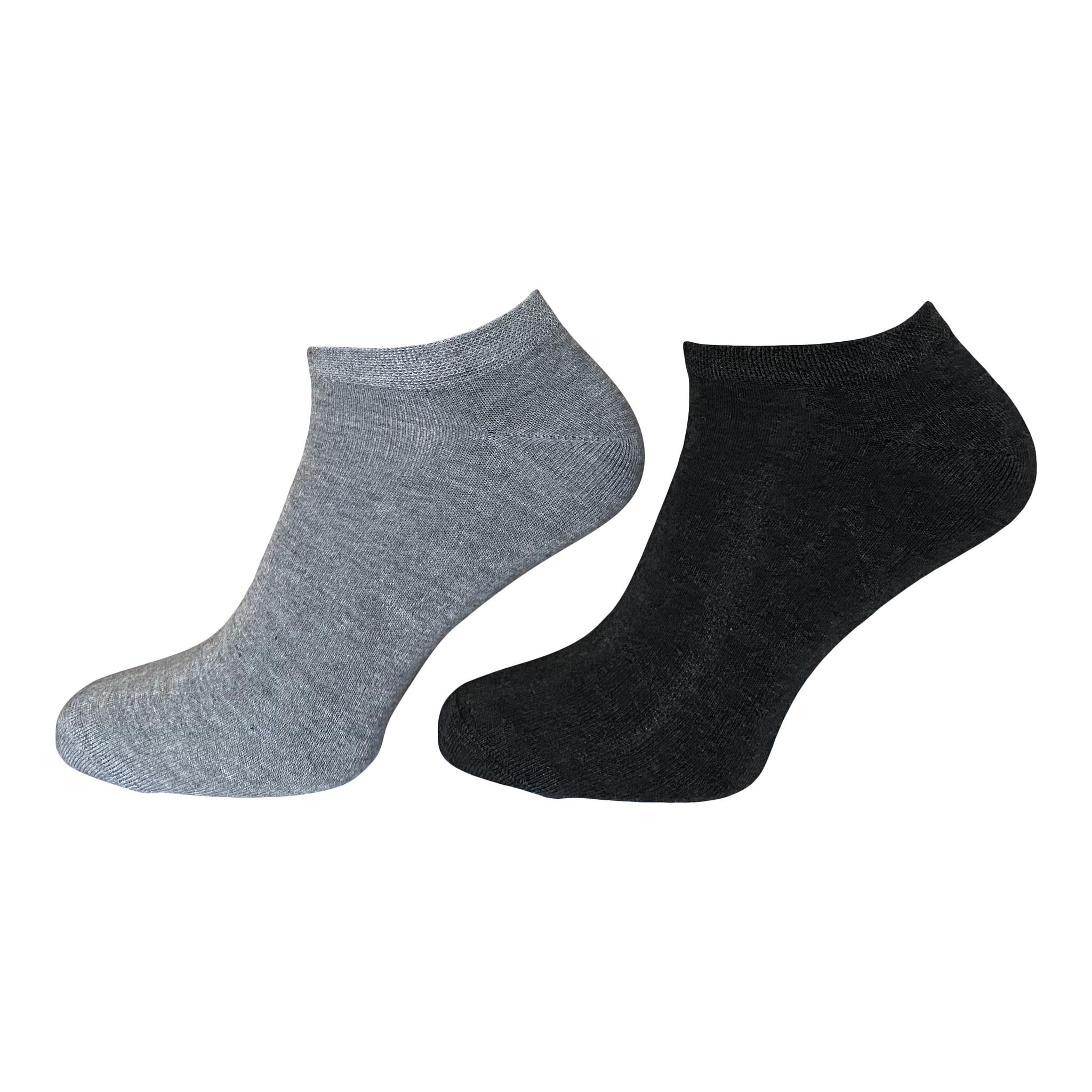 Boru sokken Boru Bamboe sneakersokken - grijs
