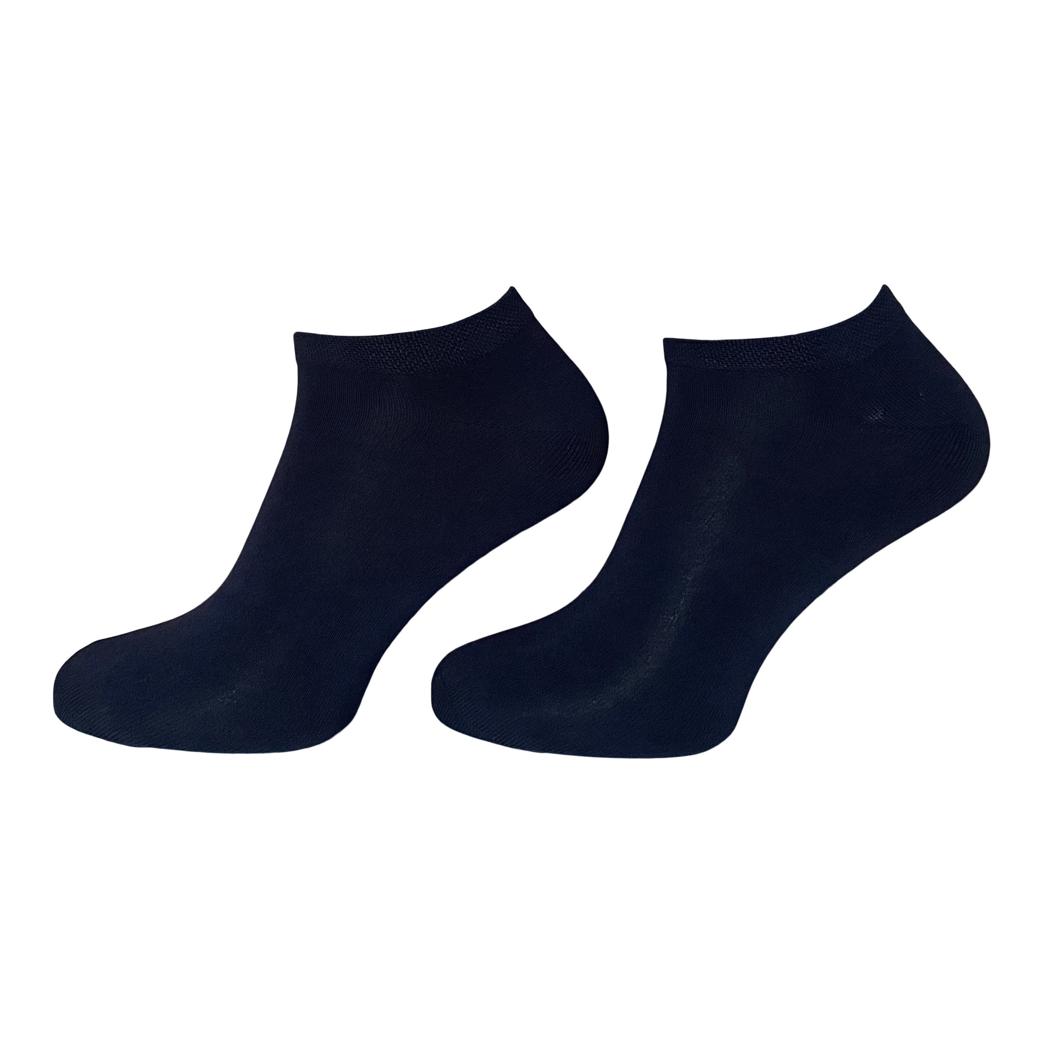 BORU Boru Bamboe sneaker sokken - marine