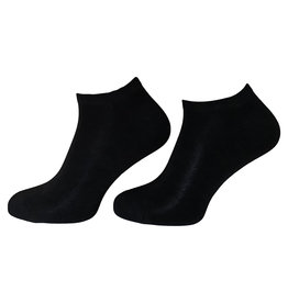 BORU Boru Bamboe sneakersokken - zwart