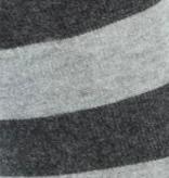 BORU Boru Bamboe sokken - streep - antraciet