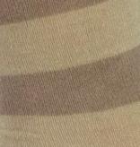 BORU Boru Bamboe sokken - streep - beige