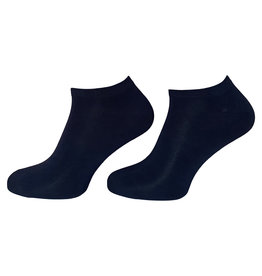 BORU Boru Bamboe Terry sneakersokken - marine