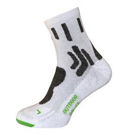 BORU Boru Bamboo Outdoor sokken - wit