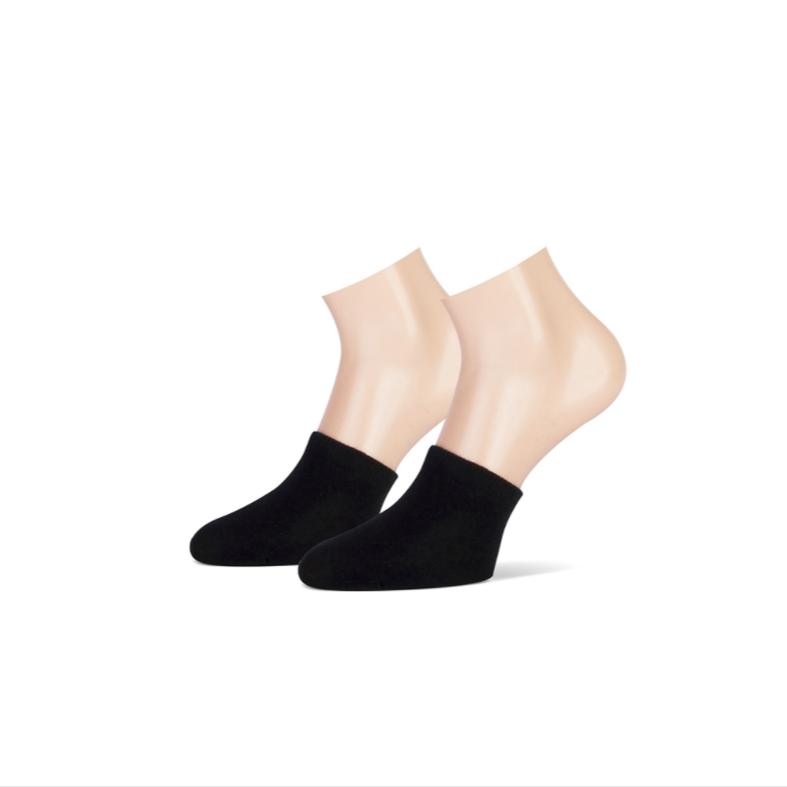 Teckel Teckel Teensokjes - zwart - 2 paar