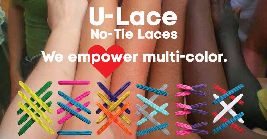 U-LACE VETERS U-Lace veters Mix-n-Match Sparkly Gold