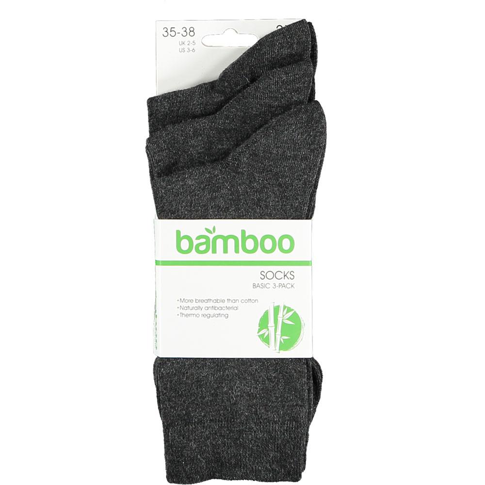 APOLLO Bamboo sokken Basic - antraciet