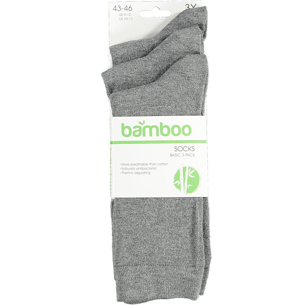 APOLLO Bamboo sokken Basic - grijs