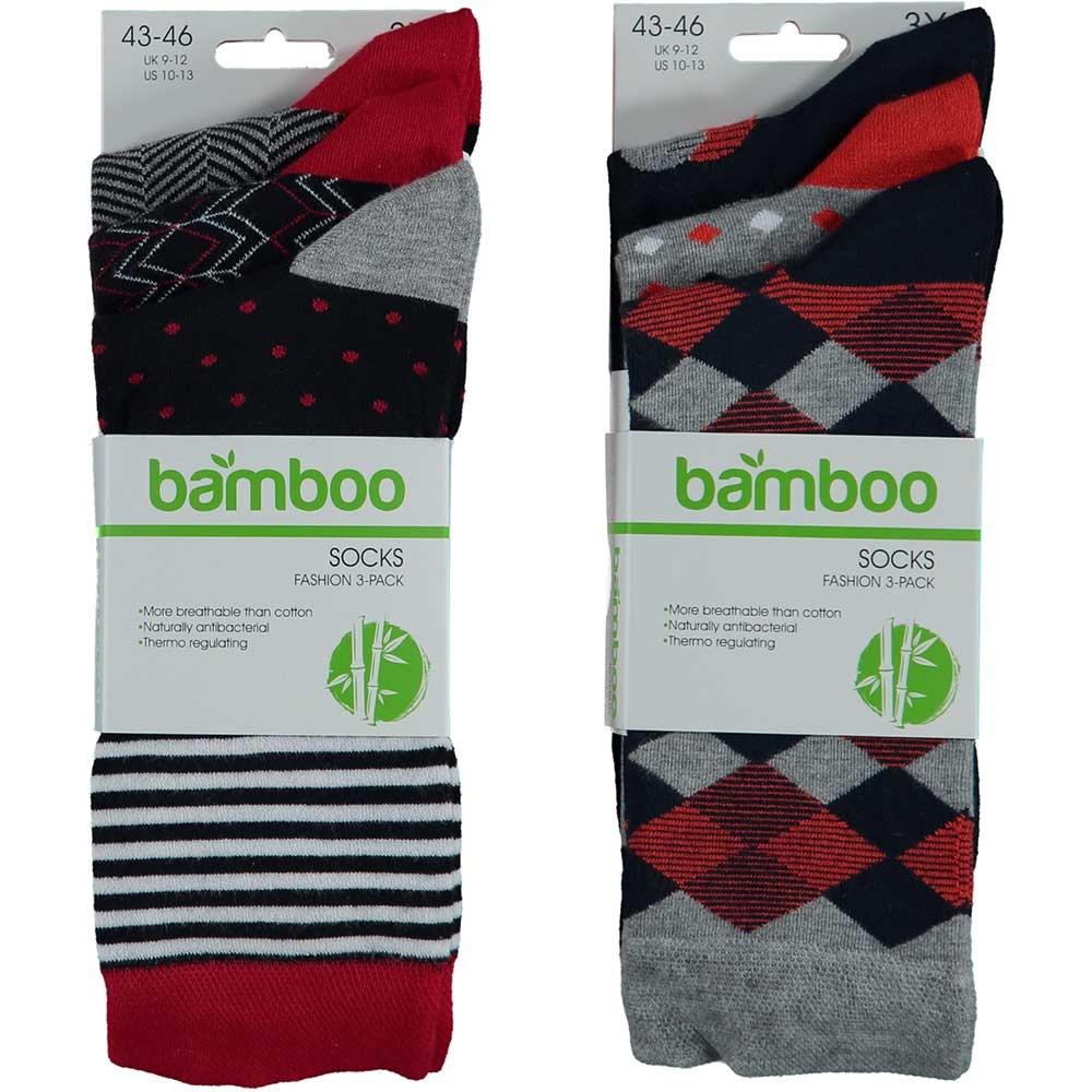 APOLLO Bamboo sokken Fashion - multi marine I