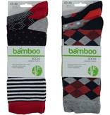 APOLLO Bamboo sokken Fashion - multi marine II