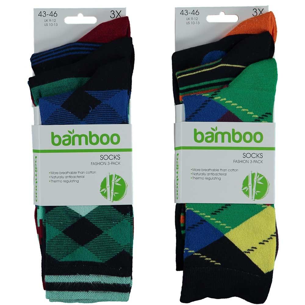 APOLLO Bamboo sokken Fashion - assorti marine I