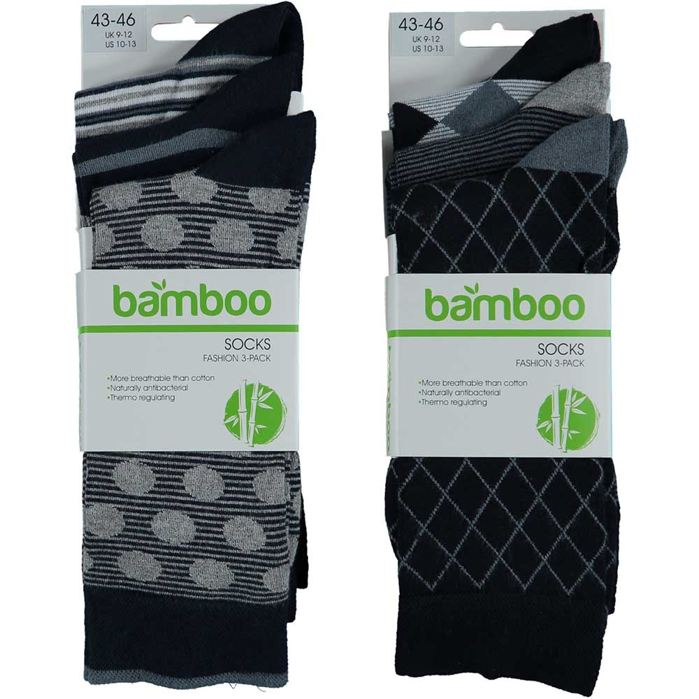 APOLLO Bamboo sokken Fashion - multi navy II