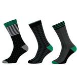 APOLLO Bamboo sokken Fashion - multi black I