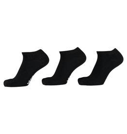 APOLLO Bamboo sneakersok Basic - zwart