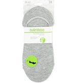 APOLLO Bamboo No Show sneakersok - grijs