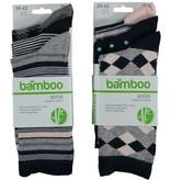APOLLO Bamboo damessokken Fashion - marine I