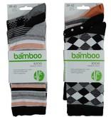 APOLLO Bamboo damessokken Fashion - black II