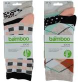 APOLLO Bamboo damessokken Fashion - beige I