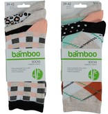 APOLLO Bamboo damessokken Fashion - beige II