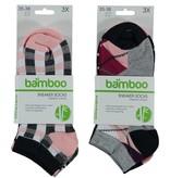 APOLLO Bamboo sneakersok - grey I