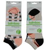 APOLLO Bamboo sneakersok - beige I