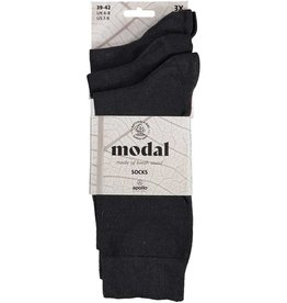 APOLLO Modal sokken - antraciet - 3 paar