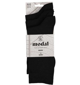 APOLLO Modal sokken - zwart - 3 paar