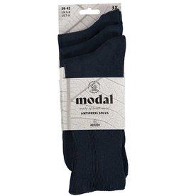 APOLLO Modal niet knellende sokken - donkerblauw