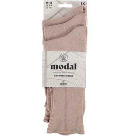 APOLLO Modal niet knellende sokken - beige