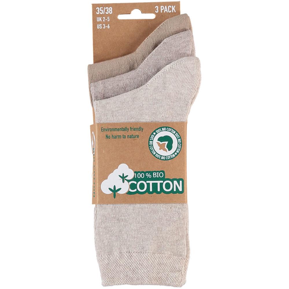 APOLLO Bio Cotton sokken - beige