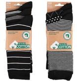APOLLO Bio Cotton herensokken - black I
