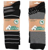 APOLLO Bio Cotton herensokken - black II
