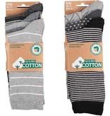 APOLLO Bio Cotton herensokken - grey I