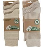 APOLLO Bio Cotton herensokken - beige I