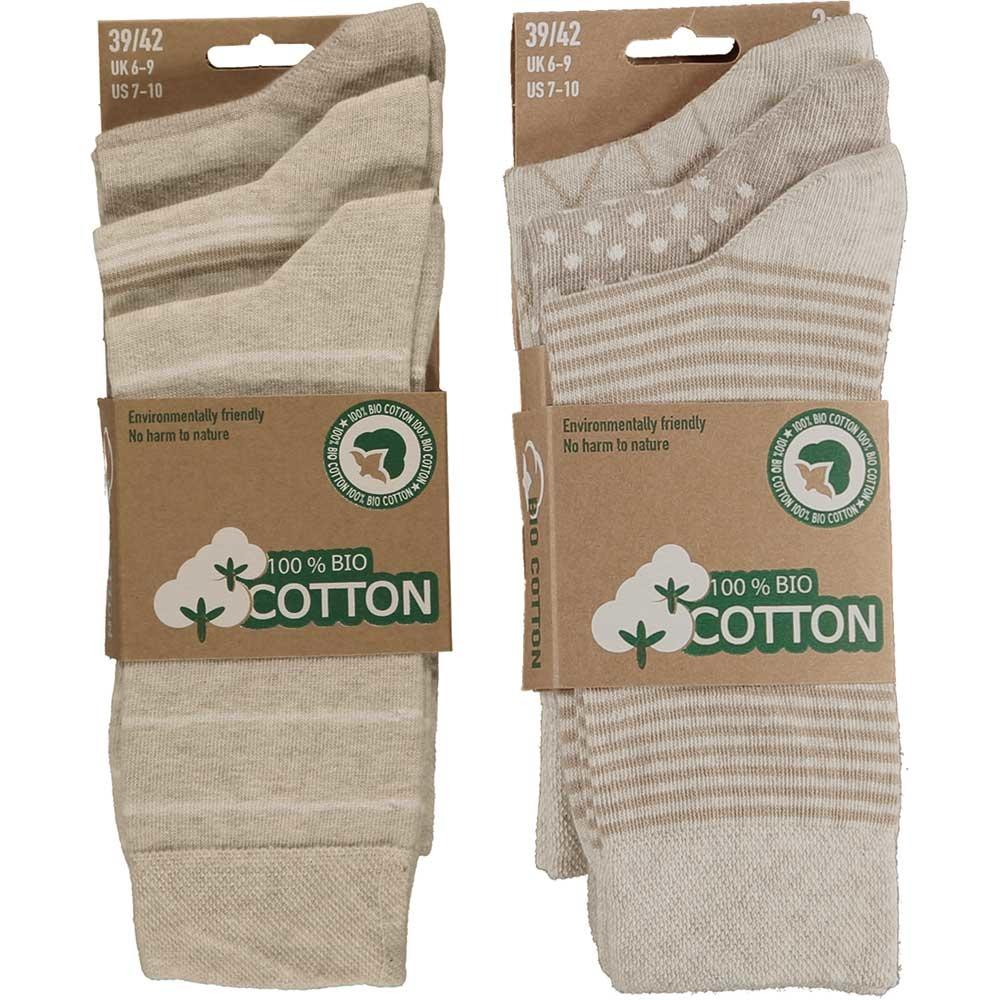 APOLLO Bio Cotton herensokken - beige II