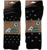 APOLLO Bio Cotton damessokken - zwart I