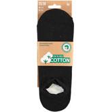 APOLLO Bio Cotton sneakersok No Show - zwart
