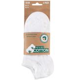 APOLLO Bio Cotton sneakersokken - wit