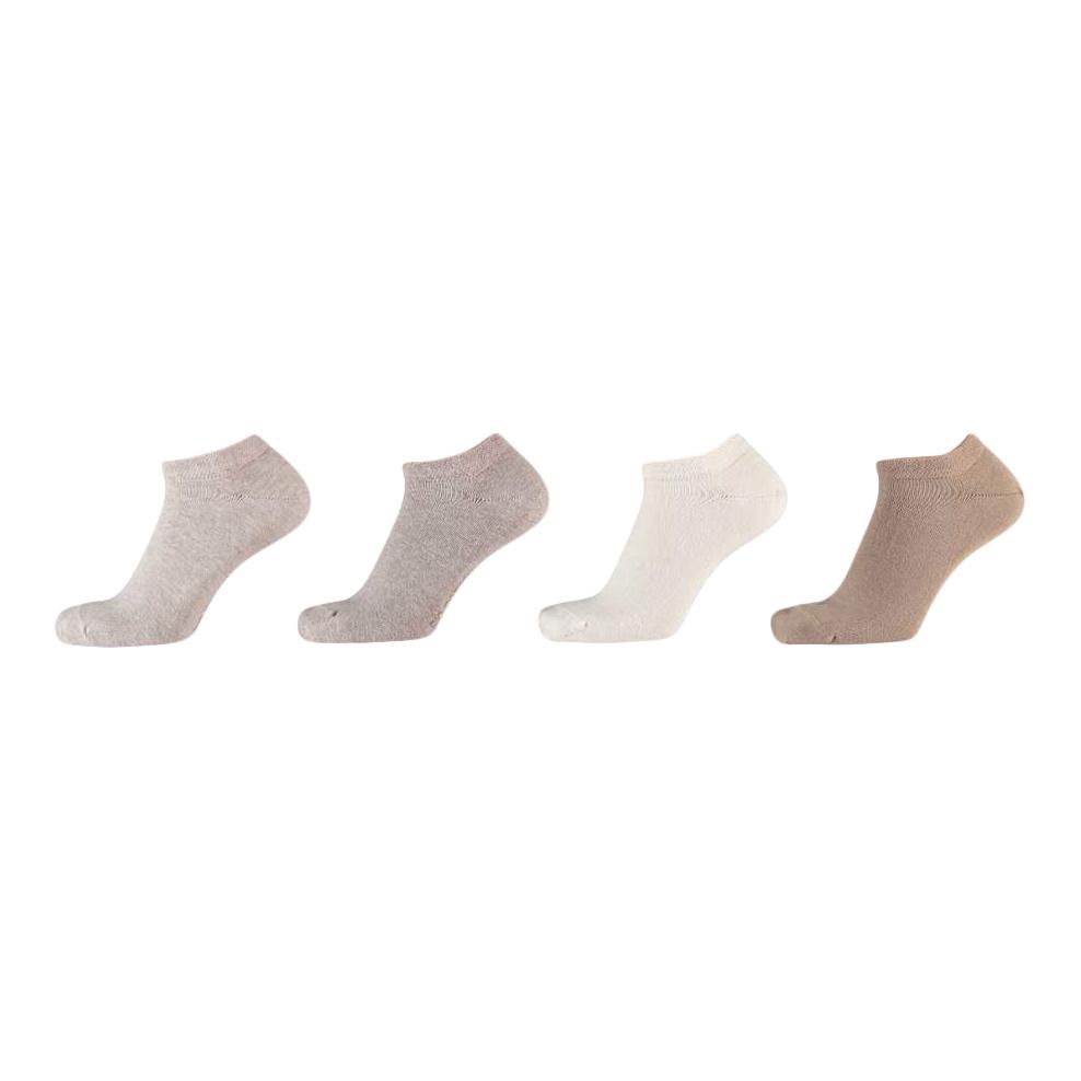 APOLLO Bio Cotton sneakersokken - multi beige