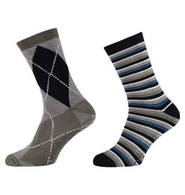 APOLLO Antislip sokken - heren - fashion IV