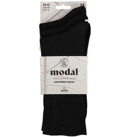 APOLLO Modal niet knellende sokken - zwart